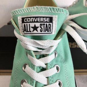 f8d5b5cde35943 Converse Shoes - Converse All Star Low Top Canvas Beach Glass